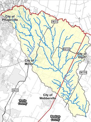 Wilbarger Creek Flood Plain