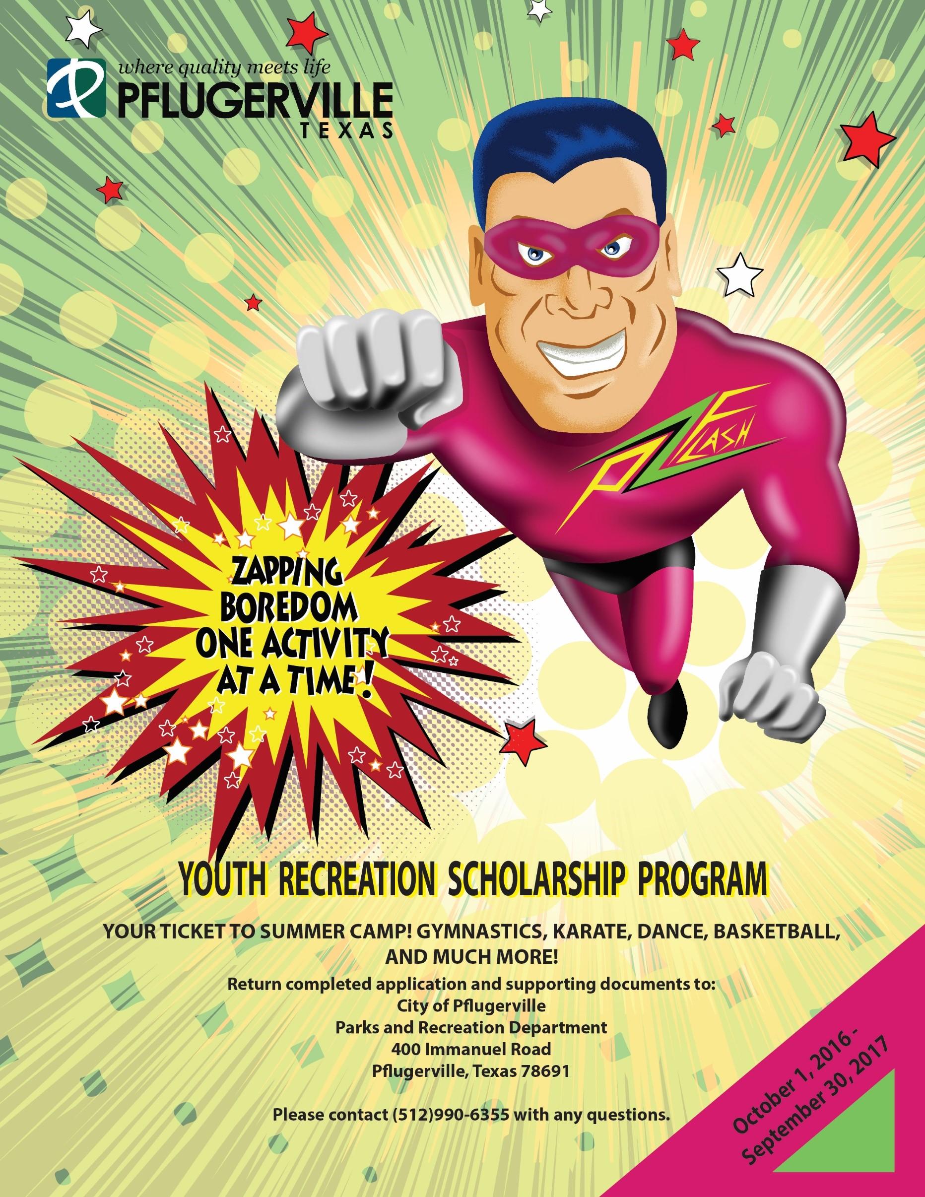 Youth Recreation Scholarship Program