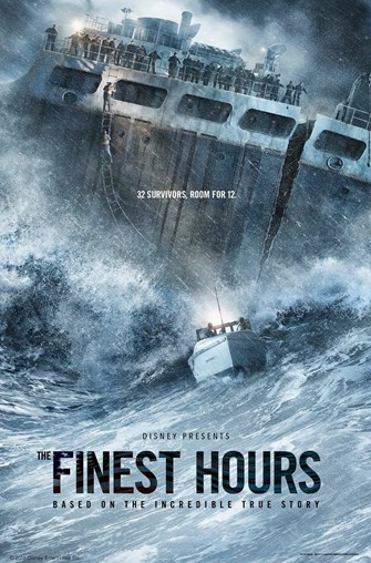 Finest Hours movie poster