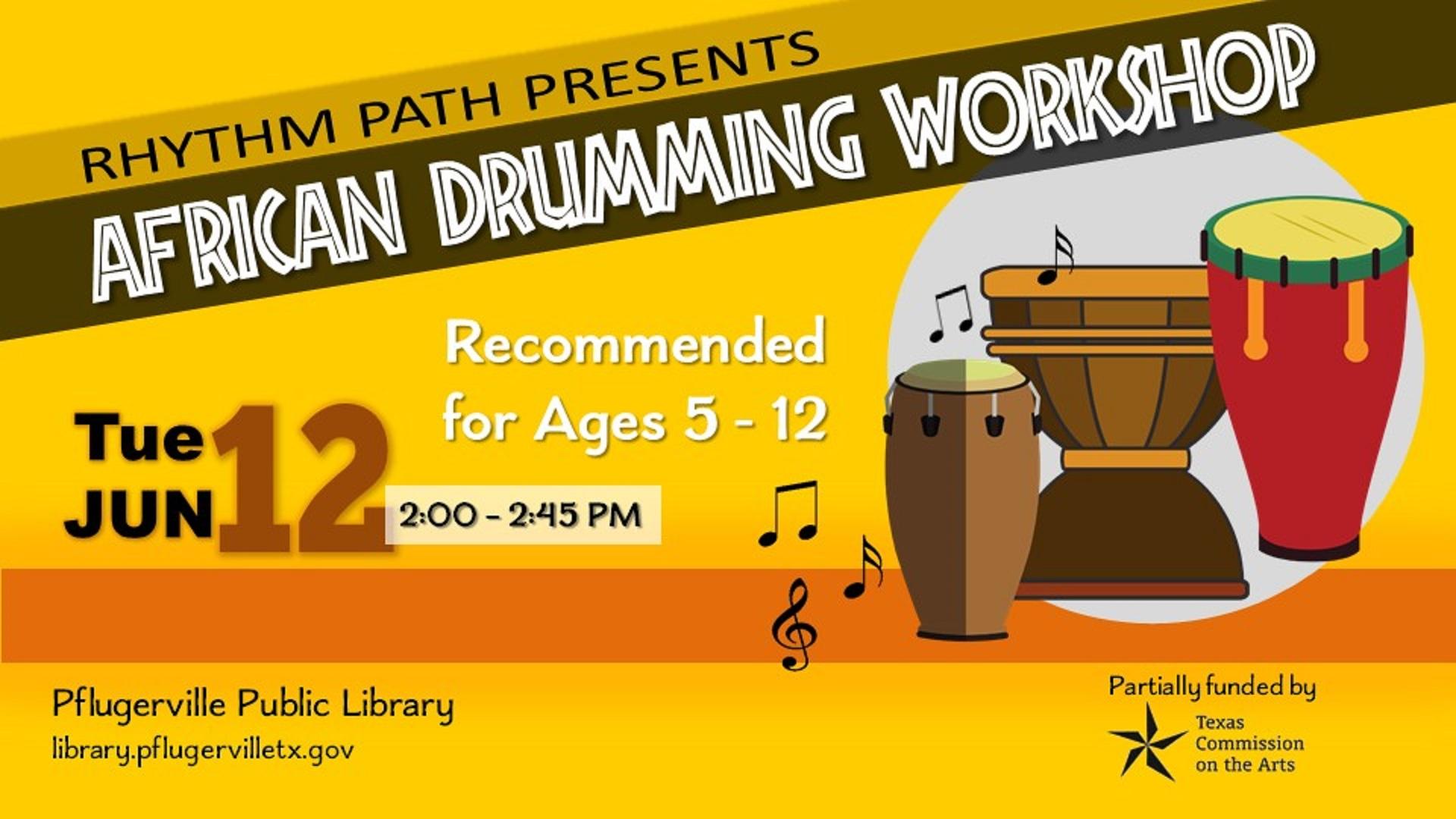 2018-06-12 Drumming Workshop - Rhythm Path