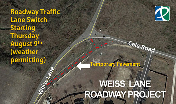 Weiss Lane Closure 080918