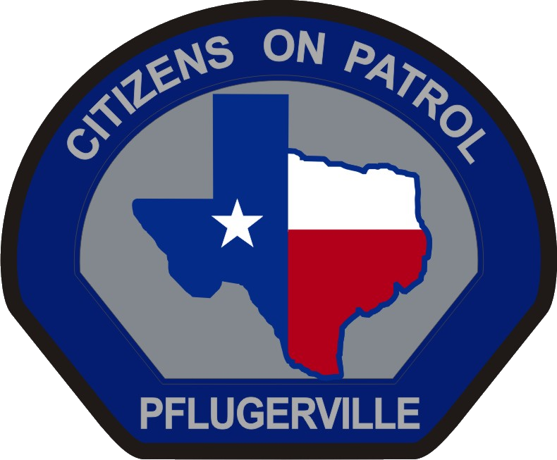 Citizens On Patrol Patch NEW