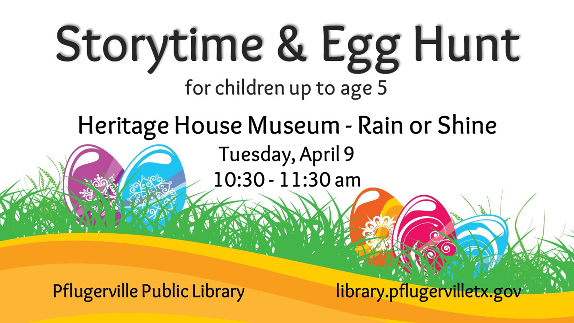 2019-04-09 Storytime and Egg Hunt