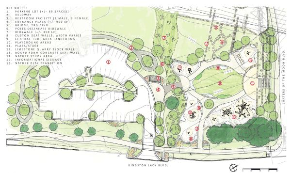 Wilbarger Creek Park Design