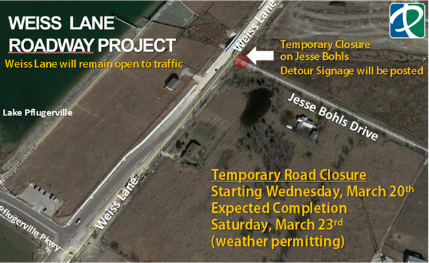 weiss lane road project 1