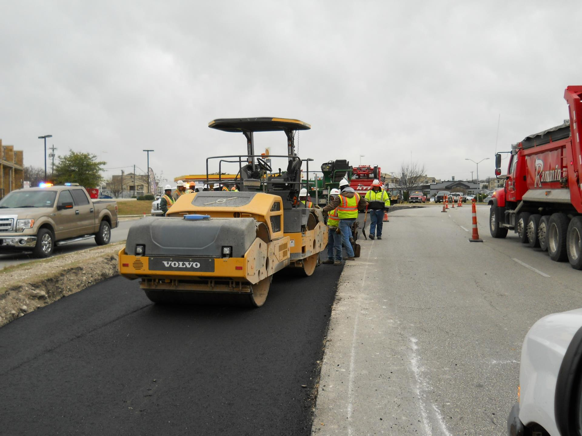 Kennemer Pavement Overlay City Of Pflugerville Texas