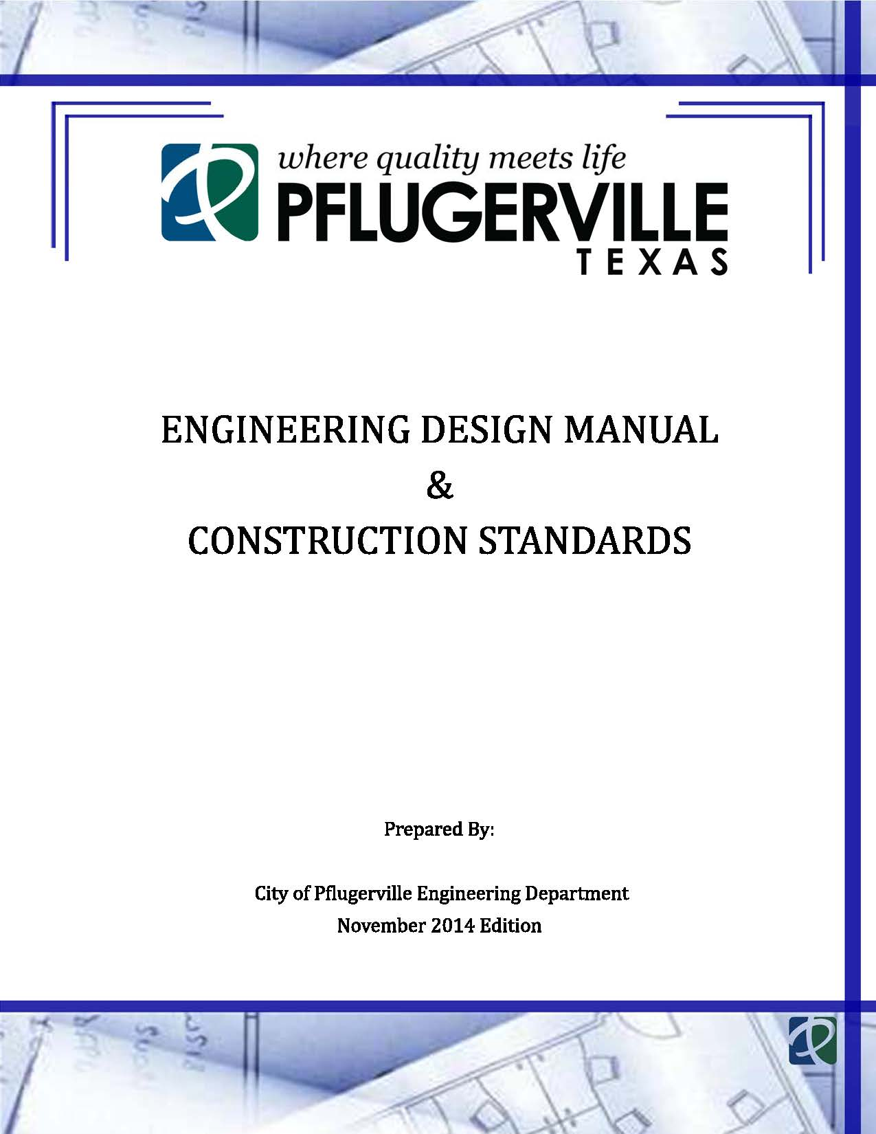 engineering design manual cover