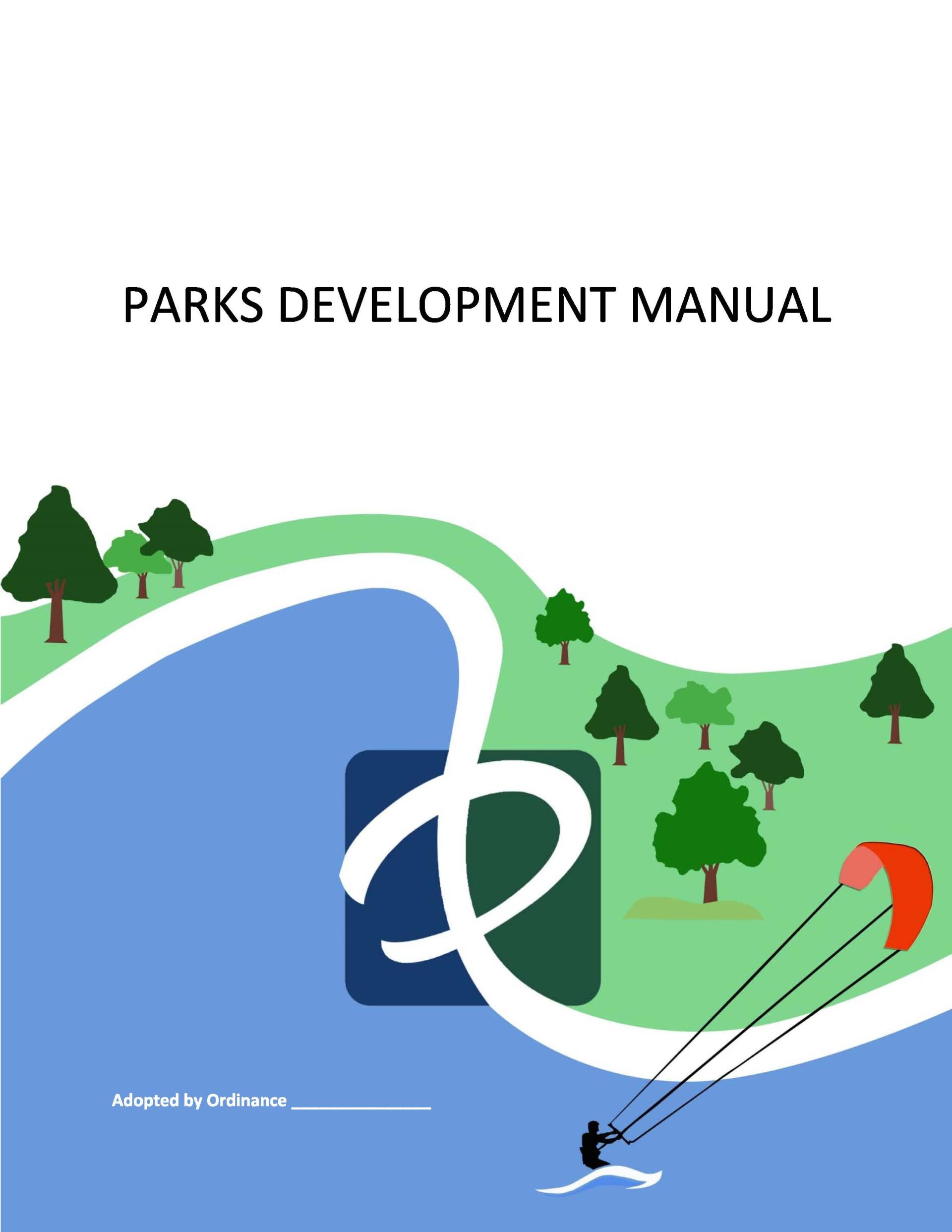 parks development manual cover