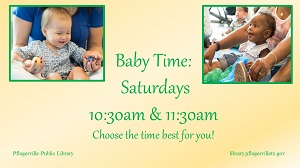 2019 saturday baby time