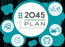 CAMPO 2045 Transportation Plan Graphic