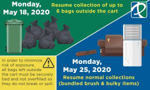 Trash Collection Update May 2020