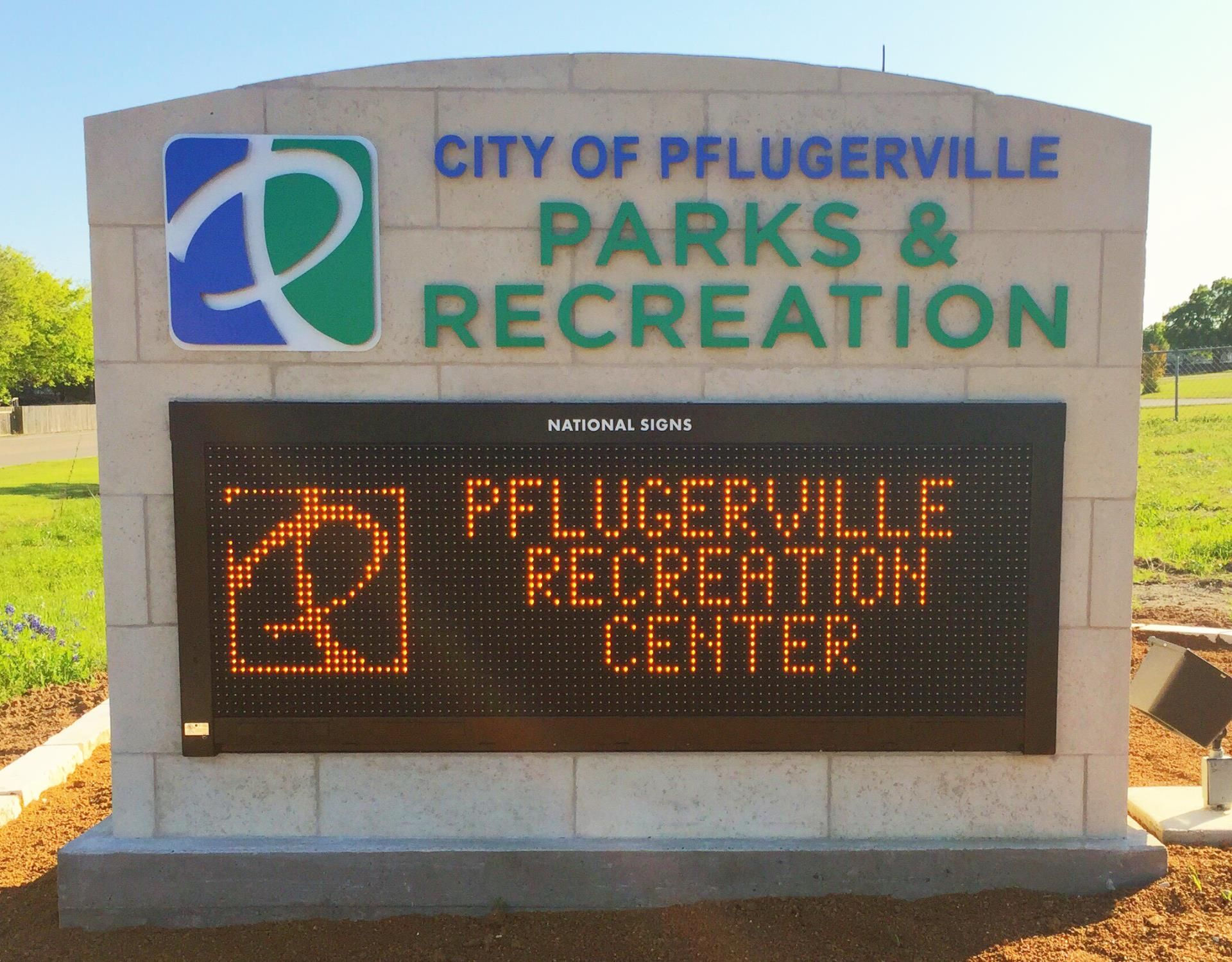New outdoor sign 2016