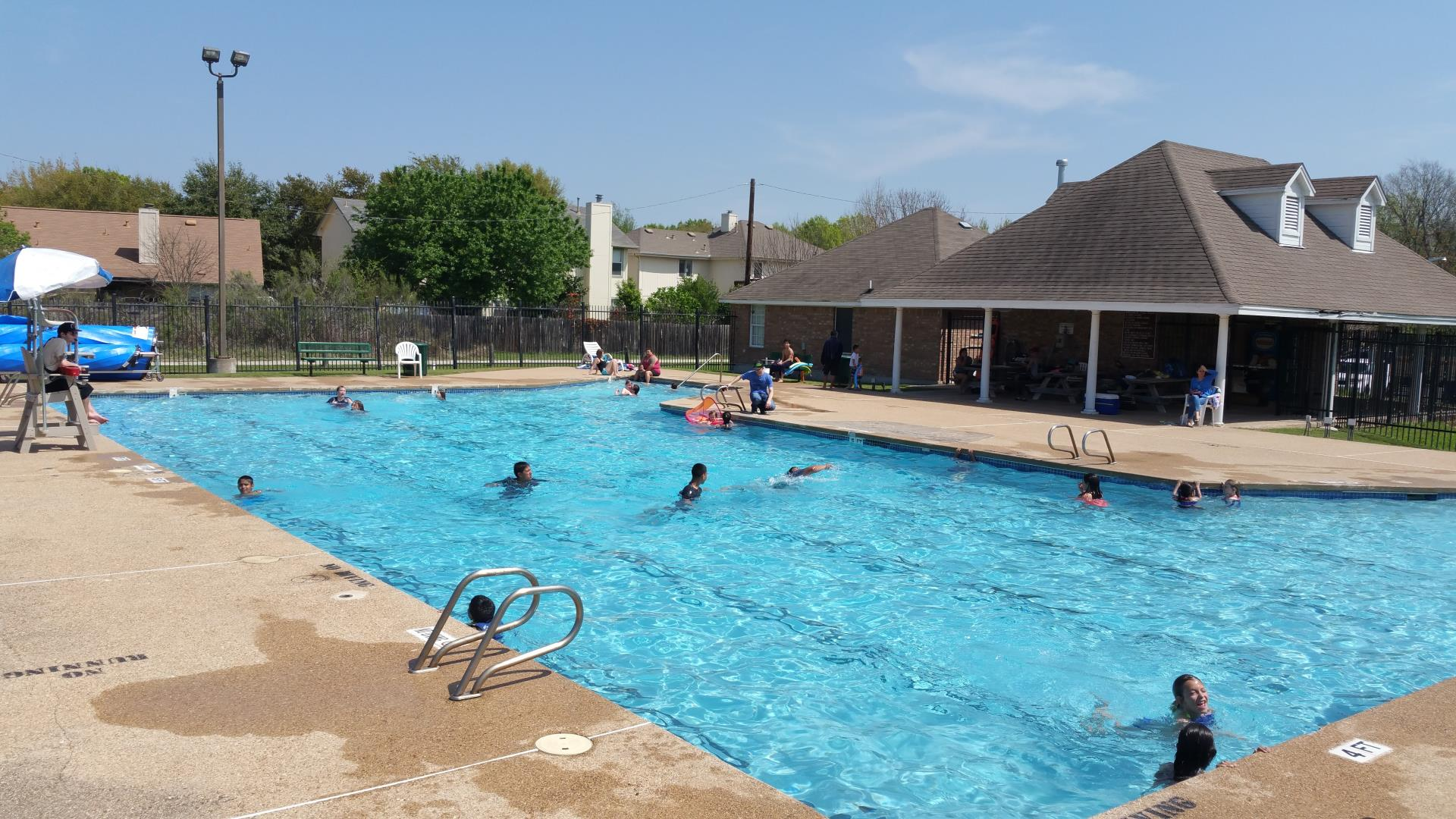 Windermere Pool Pflugerville Parks And Recreation